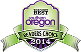 Southern Oregon Readers Choice Award