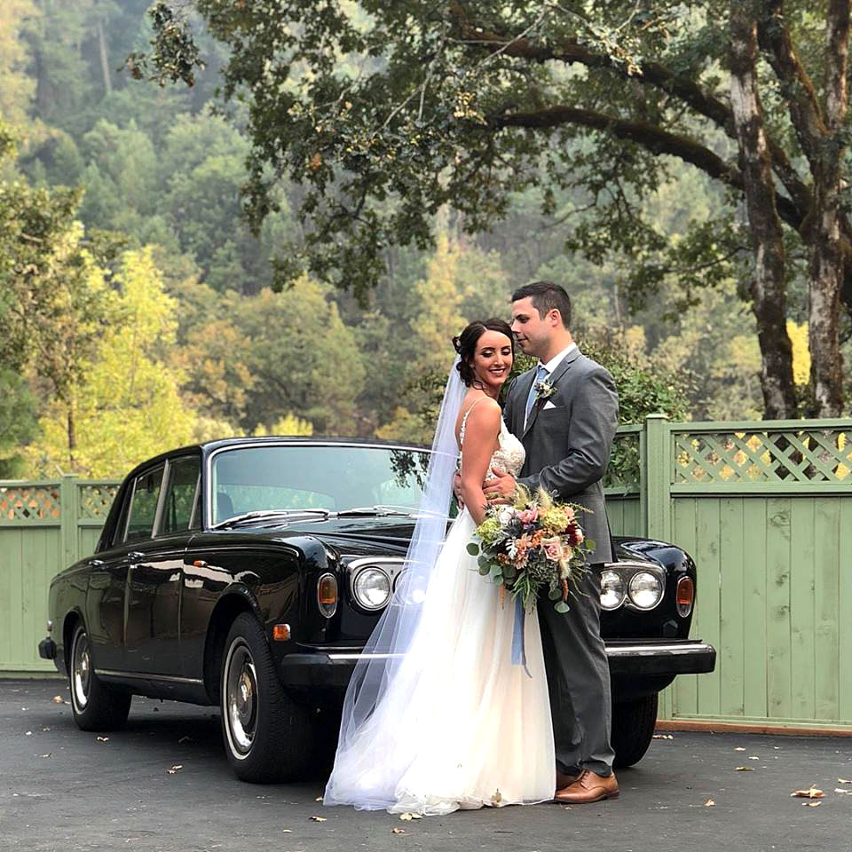 Bride & Groom Transportation - Rogue River wedding