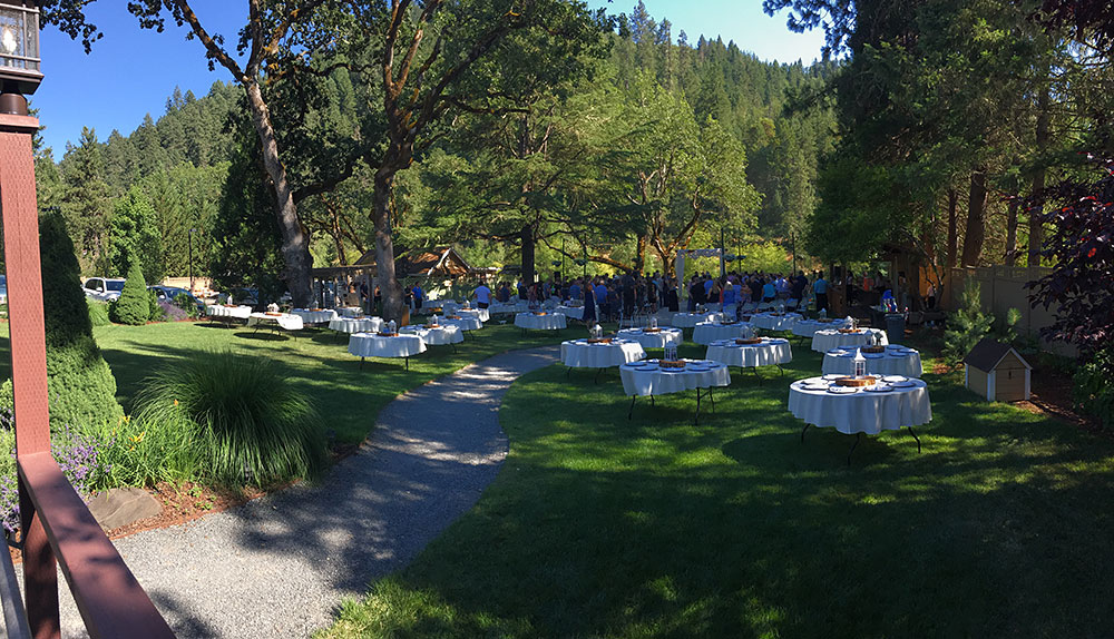 Wedding Grounds - Rogue River wedding